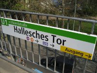 U1 Hallesches Tor